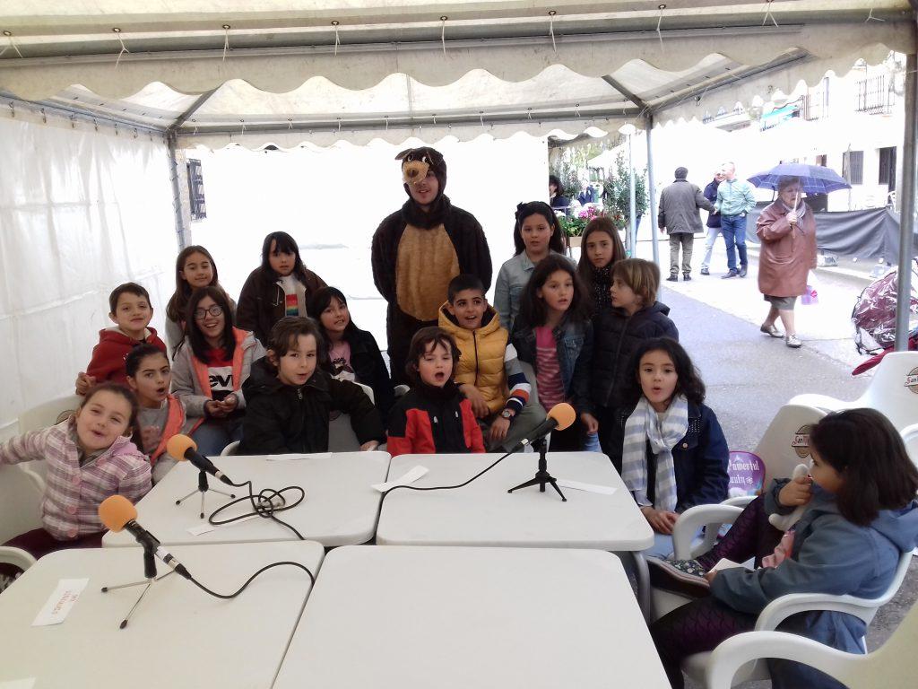 Feria del libro 2018 taller de radio