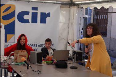taller de radio Feria del Libro Ciudad Rodrigo